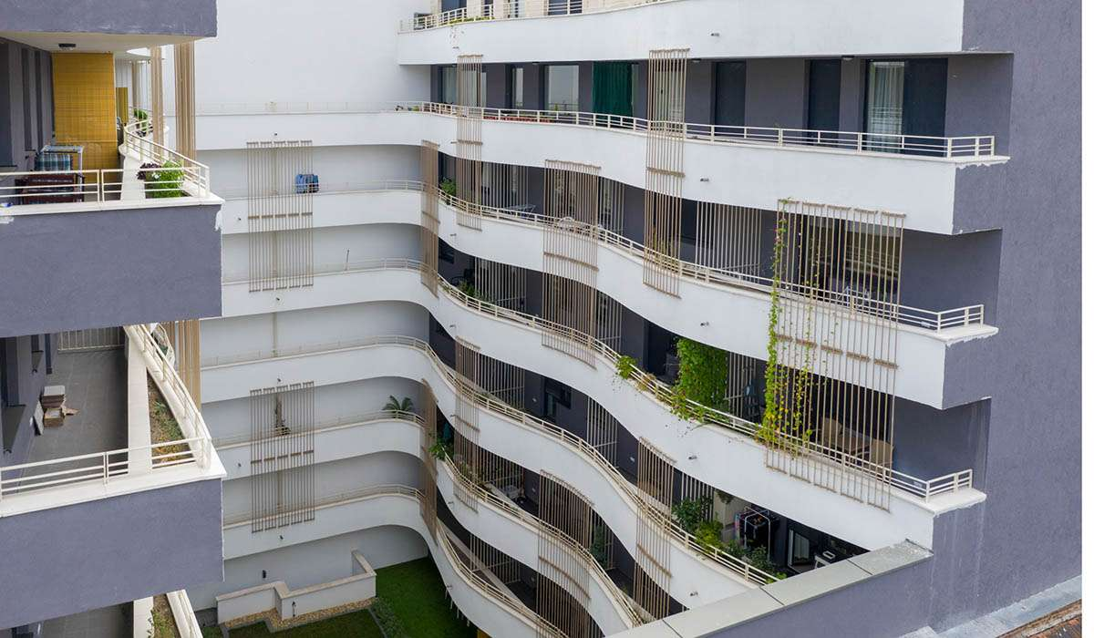 Leonardo utca 86 lakásos társasház
